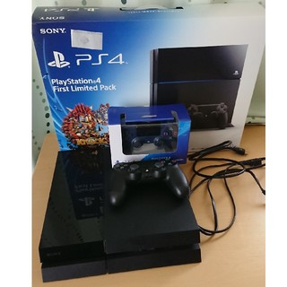 PlayStation4 - ps4 本体 500GB コントローラー2つ