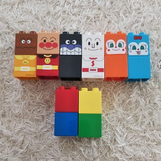 アンパンマン(アンパンマン)のアンパンマン ブロック(知育玩具)