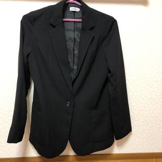 レプシィム(LEPSIM)のLEPSIM ブラックジャケット(テーラードジャケット)