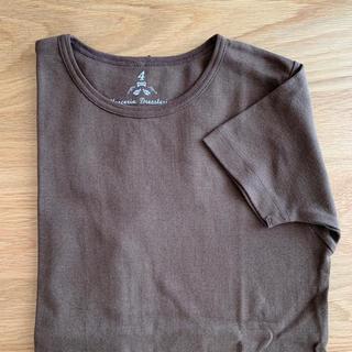 DRESSTERIOR - DRESSTERIOR ドレステリア リボン付 Tシャツ  チョコレート