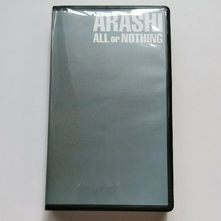『ALL or NOTHING』【VHS】フォトブック、歌詞カード付き