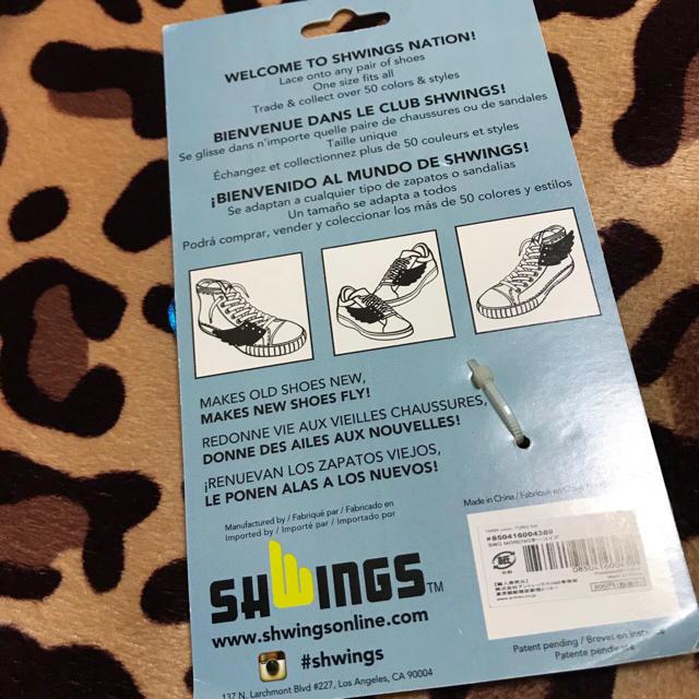 SHWINGSスニーカーアクセサリー メンズの靴/シューズ(スニーカー)の商品写真