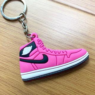 スニーカー キーホルダー ピンク バスケットシューズ(キーホルダー)