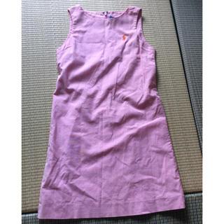 ラルフローレン(Ralph Lauren)のラルフローレン 130 ワンピース ピンク(ワンピース)