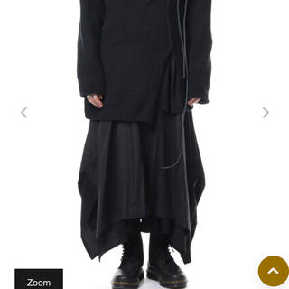 Yohji Yamamoto - ヨウジヤマモト 18aw ラップスカートパンツ look37