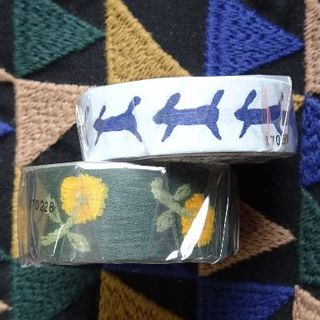 mina perhonen - ミナペルホネン マスキングテープ 2個