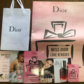 ディオール(Dior)のミスディオール展覧会 パンフレットセット(ノベルティグッズ)