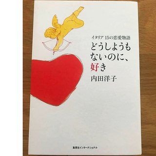 【美品】どうしようもないのに、好き イタリア15の恋愛物語  内田洋子