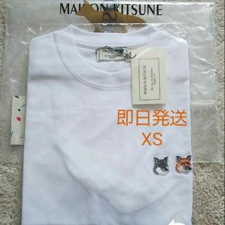 メゾンキツネ(MAISON KITSUNE')のMaison kitsune ダブルヘッドパッチ(Tシャツ/カットソー(半袖/袖なし))