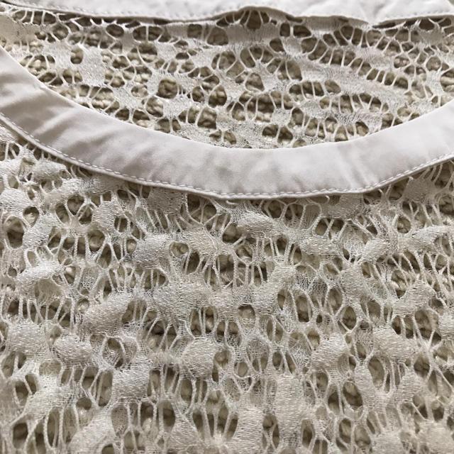 GU(ジーユー)のGU未使用透かし編みトップス レディースのトップス(Tシャツ(半袖/袖なし))の商品写真
