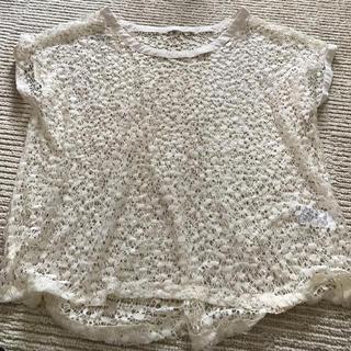 GU - GU未使用透かし編みトップス