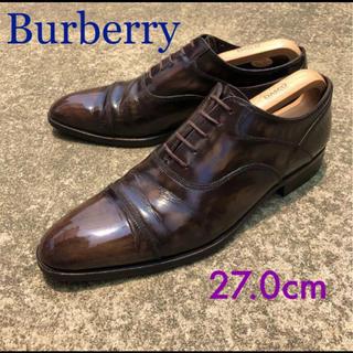 BURBERRY - バーバリー ストレートチップ ビジネスシューズ 革靴