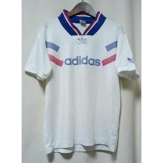 アディダス(adidas)の80年代 90年代 adidas トレフォイル DESCENTE製 Tシャツ(Tシャツ/カットソー(半袖/袖なし))