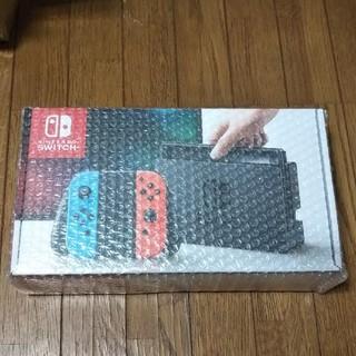 Nintendo Switch - 任天堂Switch スイッチ ネオンレッドブルー  送料無料