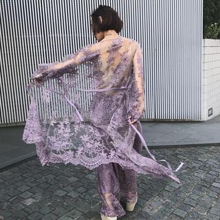 Ameri VINTAGE - MEDI LINDA LACE GOWN DRESS