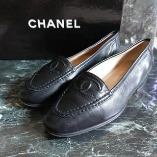 シャネル(CHANEL)のCHANEL シャネル ココマーク レザー ローファー(ローファー/革靴)