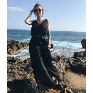 アメリヴィンテージ(Ameri VINTAGE)の【新品タグ付き】Ameri VINTAGE ロマンティックロープドレス(ロングワンピース/マキシワンピース)