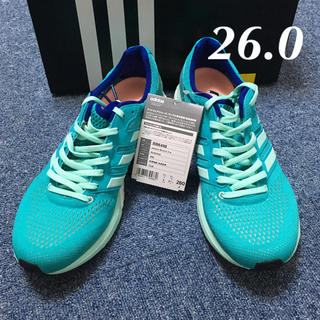 adidas - 【新品未使用】 adiZERO boston 3W  26.0