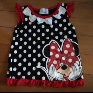 ディズニー(Disney)のタンクトップ 80 ミニー 女の子 ディズニー(タンクトップ/キャミソール)