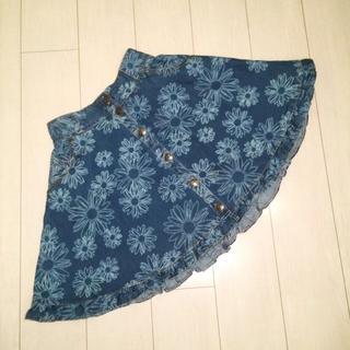 リズリサ(LIZ LISA)のリズリサ デニムスカート(ひざ丈スカート)