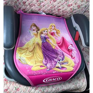 ディズニー(Disney)のジュニアシート ディズニー プリンセス(自動車用チャイルドシート本体)