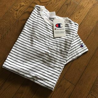 チャンピオン(Champion)のチャンピオン メンズ  ボーダー(Tシャツ/カットソー(半袖/袖なし))
