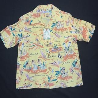 サンサーフ(Sun Surf)の新品 女性もOK XSサイズ サンサーフ ハワイアンシャツ 総柄 ss33311(シャツ)