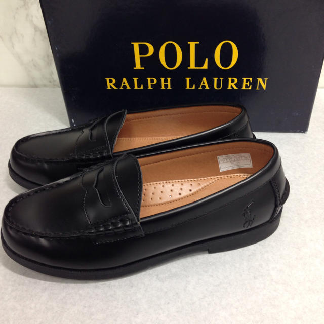 POLO RALPH LAUREN(ポロラルフローレン)のポロ ラルフローレン ローファー ☆新品未使用品☆23㎝ レディースの靴/シューズ(スニーカー)の商品写真