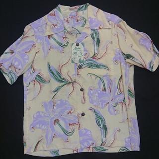 サンサーフ(Sun Surf)の新品 女性もOK XSサイズ サンサーフ ハワイアンシャツ カトレア・オーキット(シャツ)