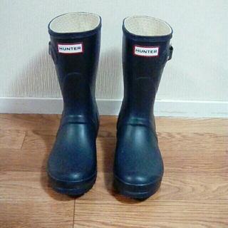 ハンター(HUNTER)のHUNTER レインブーツ オリジナル ショート ネイビー UK5 24cm(レインブーツ/長靴)