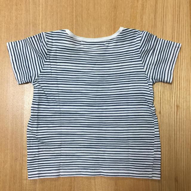 BURBERRY(バーバリー)のバーバリー Tシャツ 12m 80cm ボーダー キッズ/ベビー/マタニティのベビー服(~85cm)(Tシャツ)の商品写真