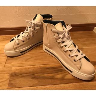 オゥバニスター(AU BANNISTER)の美品 オゥバニスター  レインシューズ ハイカット 24.0 Lサイズ(レインブーツ/長靴)