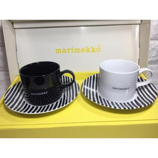 マリメッコ(marimekko)のマリメッコ FUJIEI LIFESTYLE カップ&ソーサー 未使用品(グラス/カップ)