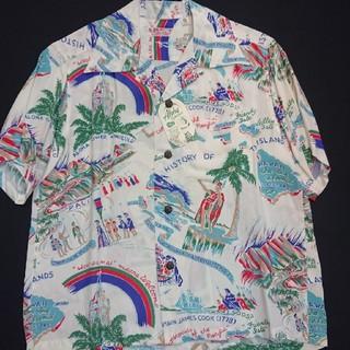 サンサーフ(Sun Surf)の新品 女性もOK サンサーフ ハワイアンシャツ 総柄 ss33324(シャツ)