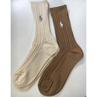 Ralph Lauren - 【 新品 未使用 】Ralph Lauren ラルフローレン 靴下 2足セット