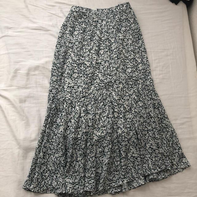 しまむら(シマムラ)のしまむら 花柄マーメイドスカート レディースのスカート(ロングスカート)の商品写真