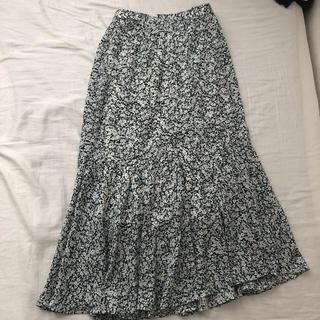 しまむら - しまむら 花柄マーメイドスカート