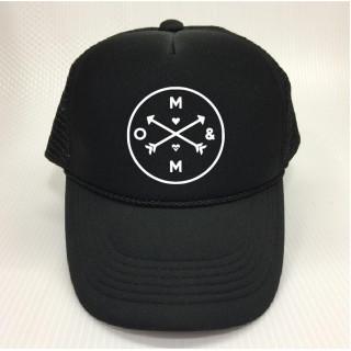ストリート系ロゴマーク メッシュキャップ OTTOタイプ 帽子 upk50