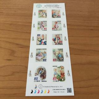 ピーターラビット♢82円切手シート