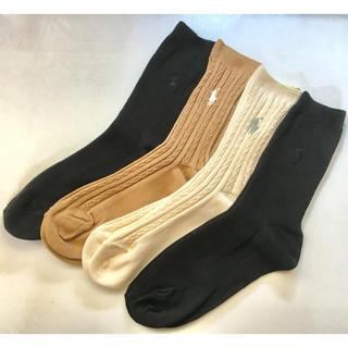 Ralph Lauren -  【 新品 未使用 】Ralph Lauren ラルフローレン 靴下 4足セット
