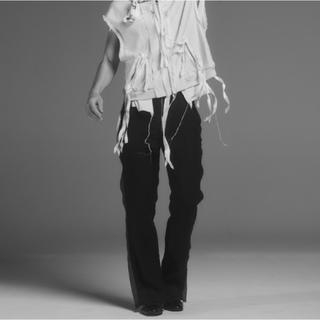 サンシー(SUNSEA)の【midorikawa】Mid 19SS - P01 - Black(スラックス)