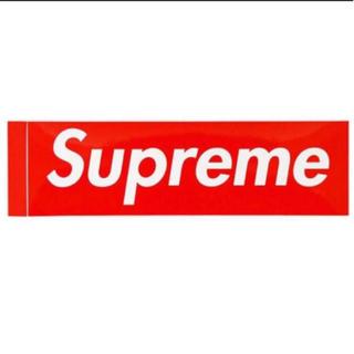 シュプリーム(Supreme)の【最安値】Supreme ステッカー(しおり/ステッカー)