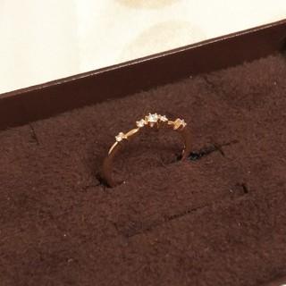 アガット(agete)のagete アガット  ダイヤ ピンキー リング 3号 K18(リング(指輪))