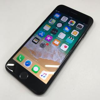 SIMロック解除済 iPhone7 128GB ジェットブラック