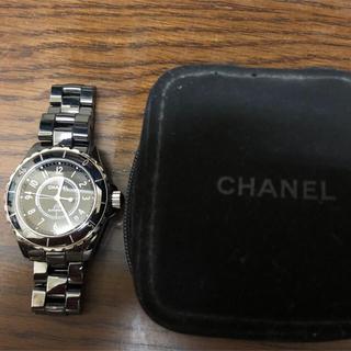 シャネル(CHANEL)のシャネル j12 時計(腕時計(アナログ))