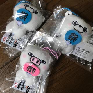 セガ(SEGA)のヨッシースタンプ  お祭りうちわマスコット 3個セット(キャラクターグッズ)