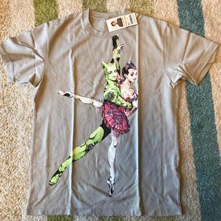 ユニクロ(UNIQLO)の荒木飛呂彦 限定 Tシャツ グレー Mサイズ(少年漫画)