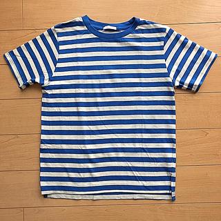 GU - ジーユー gu tシャツ 130 男の子 ボーダー