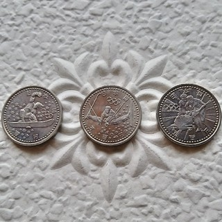 長野オリンピック記念硬貨3種セット