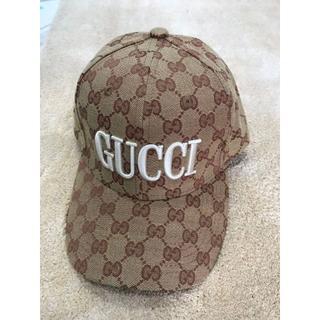 グッチ(Gucci)のGGキャンバス キャップ(キャップ)